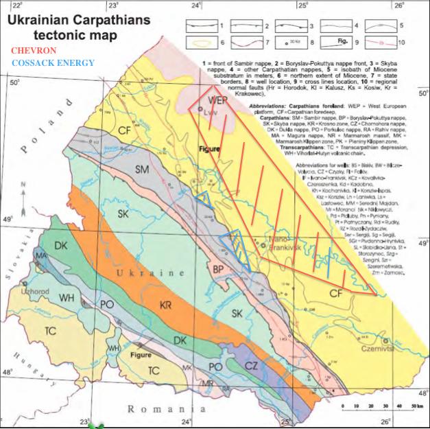 UkrainianCarpathiansTectonicMap